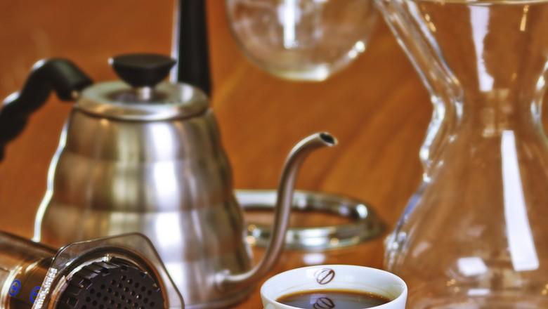 cafe-coador-cafe-octavio (Foto: Roberto Seba/Ed. Globo)