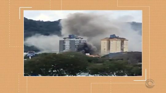 Princípio de incêndio assusta frequentadores de shopping em Santa Cruz