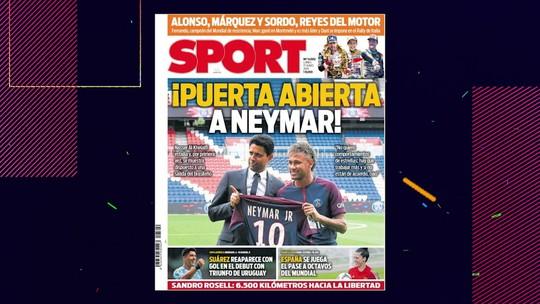 "Comentaristas opinam sobre futuro de Neymar; André Rizek diz: ""Futebol inglês faria bem"""