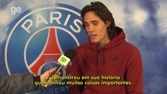 """Cavani diz que Brasil """"sempre é favorito"""", mas espera fazer valer o fator casa"""