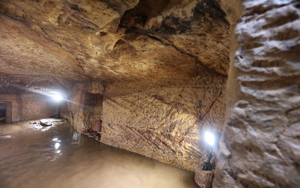 Tumba alagada é descoberta do Egito (Foto: Gebel el-Silsila Project, 2018)