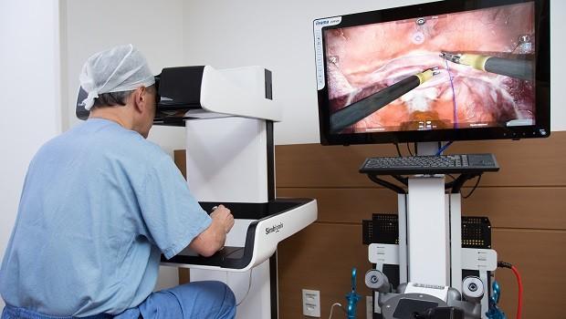 Simulador de cirurgias robóticas (Foto: Divulgação/H9J)