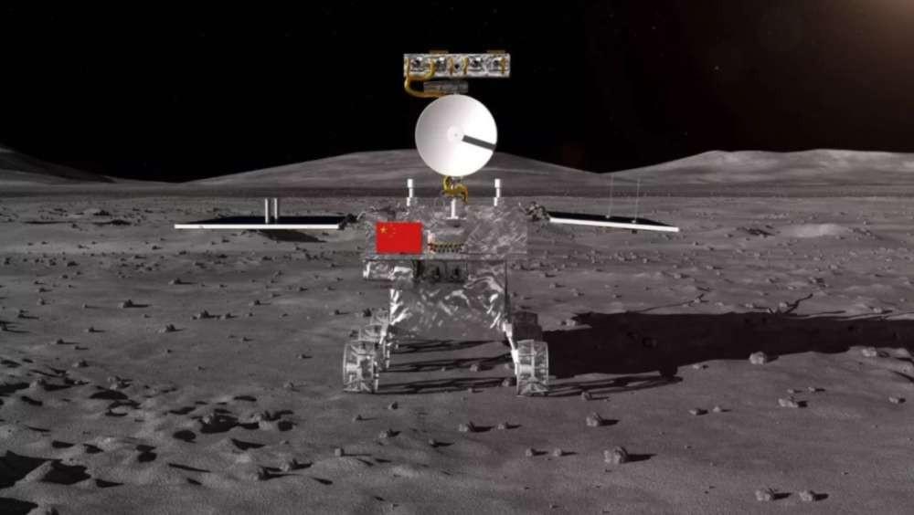 Veículo da nova missão chinesa Chang'e-4 será quase idêntico ao Yutu, usado em missão anterior  (Foto: CNSA/China)