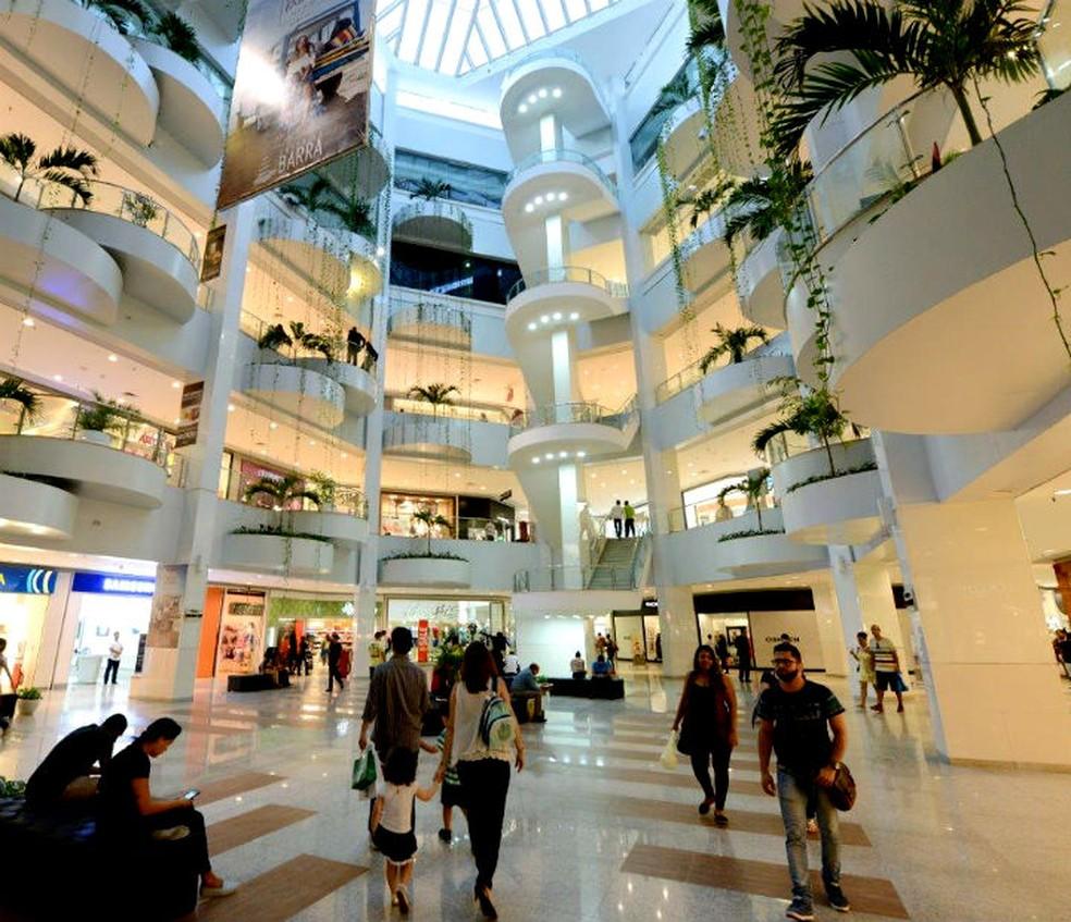 c22e23469b ... Shopping Barra é um dos estabelecimentos que terão horário modificado  na Semana Santa — Foto