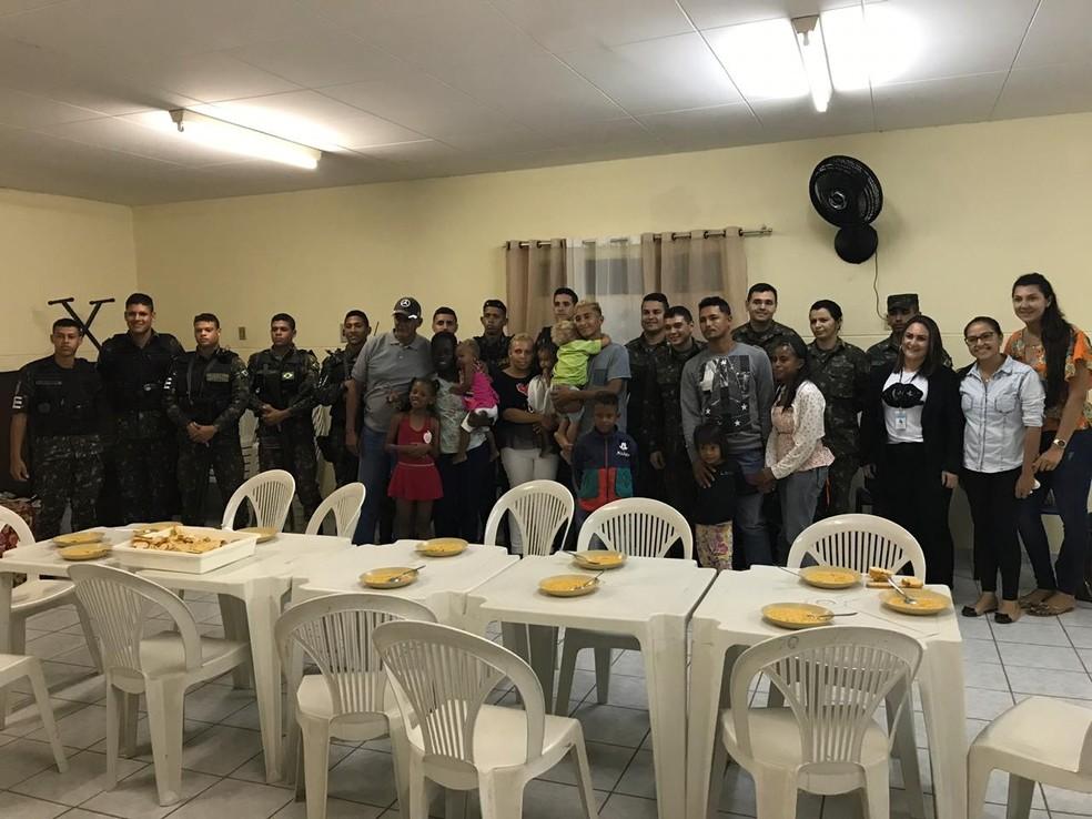 Grupo de novos venezuelanos foi acolhido na Aldeias Infantis SOS, em Caicó, na região Seridó potiguar — Foto: Leianne Régia