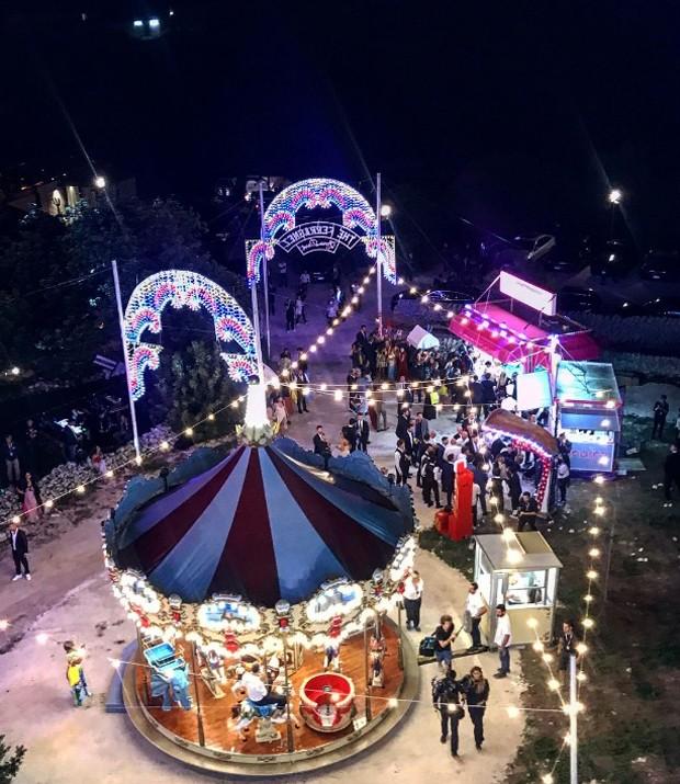Casamento Chiara Ferragni e Fedez: Parque de diversões The Ferragnez - Luna Park (Foto: Instagram/Reprodução)