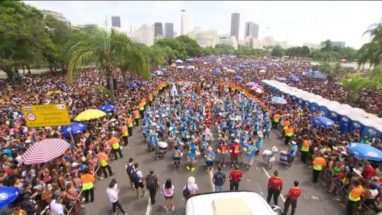 Monobloco encerra o carnaval do Rio