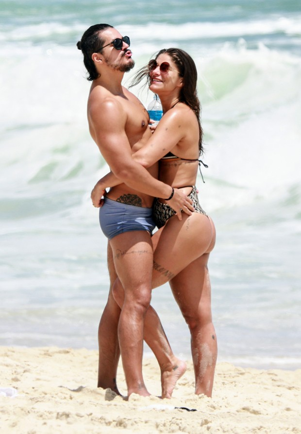 Priscila Fantin e Bruno Lopes (Foto: Dilson Silva/AgNews)