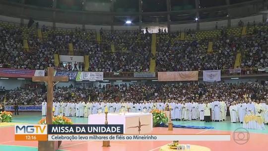 Vítimas de Brumadinho são homenageadas na Missa da Unidade, em Belo Horizonte