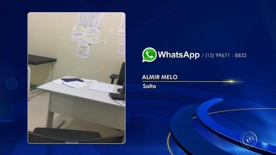 Paciente flagra salas fechadas e falta de médicos em pronto-socorro de Salto; vídeo