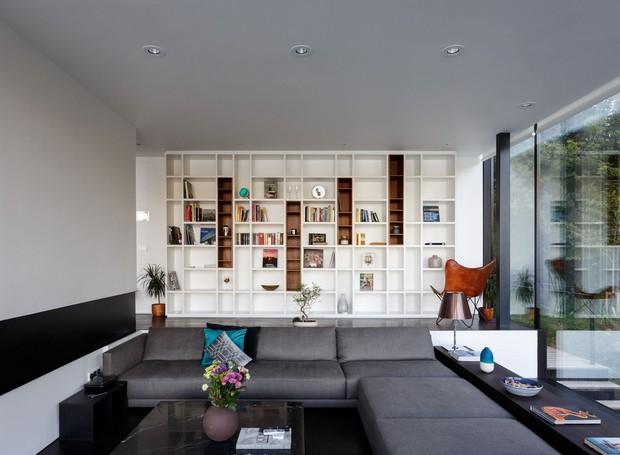 Casa que flutua: sala de estar (Foto: María Barricart/Mecanoo/Reprodução)