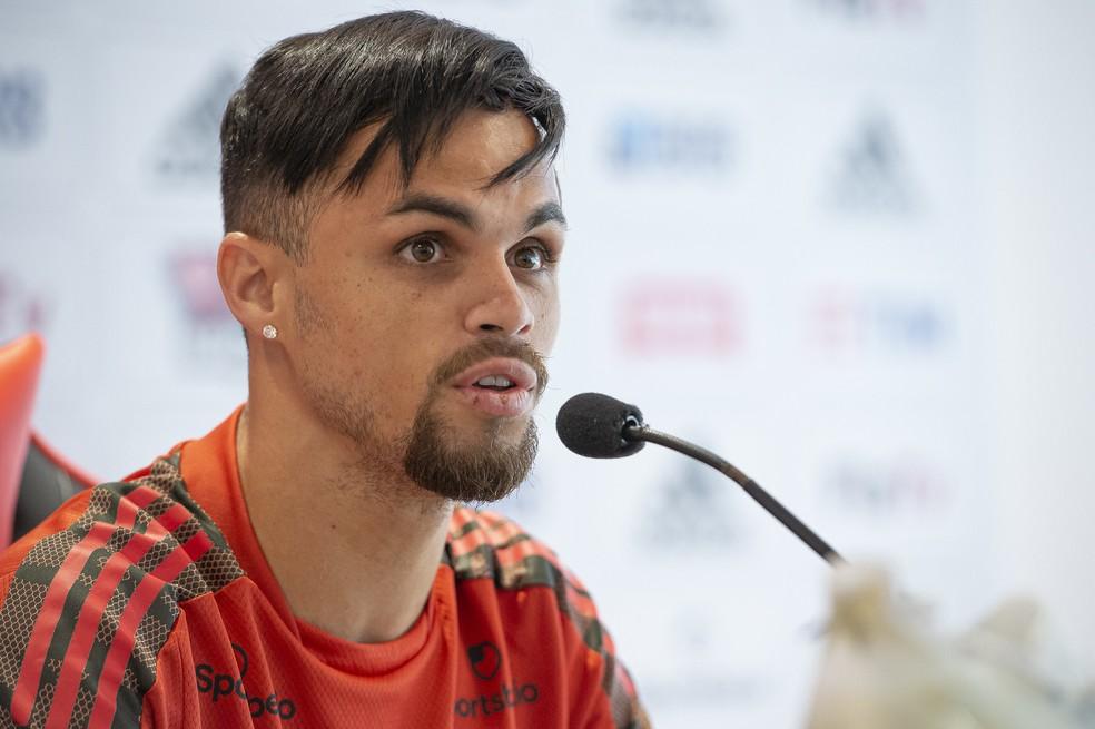 Michael, atacante do Flamengo — Foto: Alexandre Vidal / Flamengo