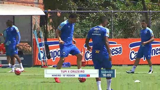 Com jogo remarcado, Mano abre totalmente o treino e Lucas Romero fala sobre o impasse envolvendo o Deportivo Lara