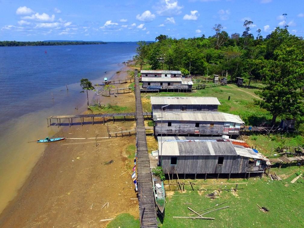 Comunidades de Laranjal do Jari e Vitória do Jari tentam obter certificado de território quilombola — Foto: Gabriel Penha/GEA/Divulgação
