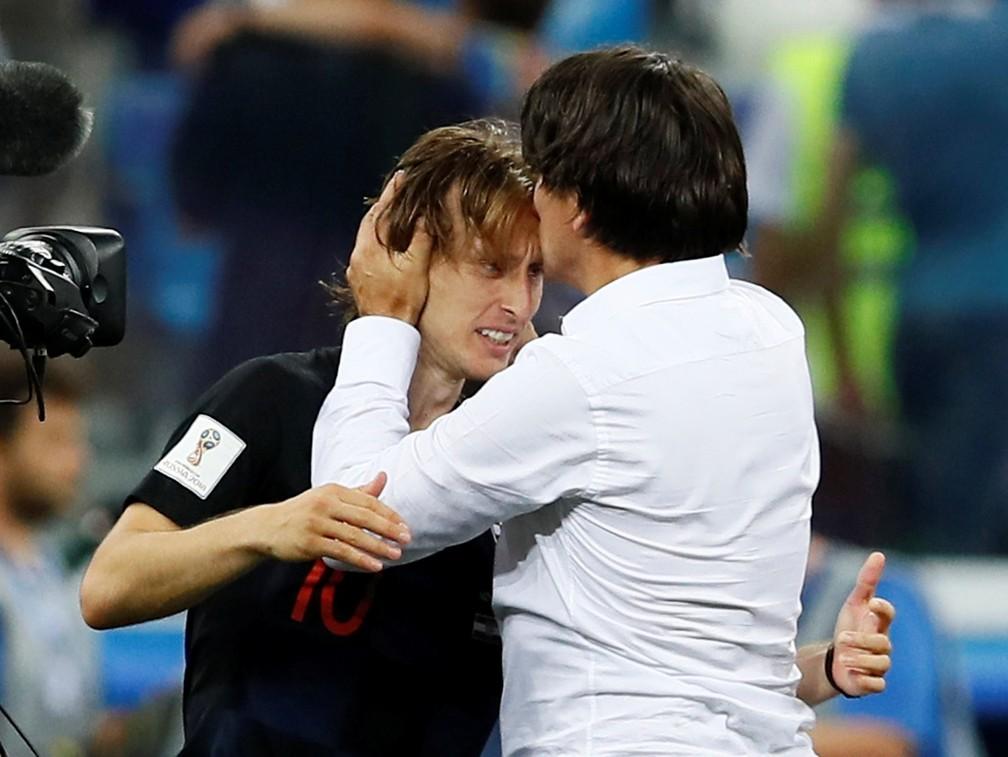 Modric é o craque do time dirigido por Dalic (Foto: REUTERS)