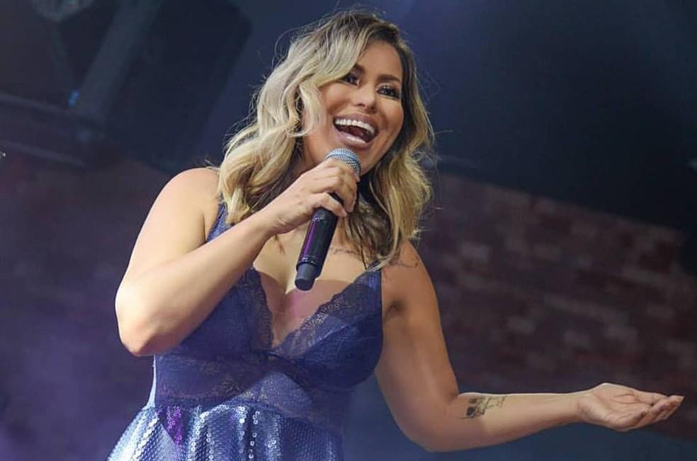 Cantora Walkyria Santos faz show neste domingo (9) no São João 2019 de Campina Grande — Foto: Divulgação