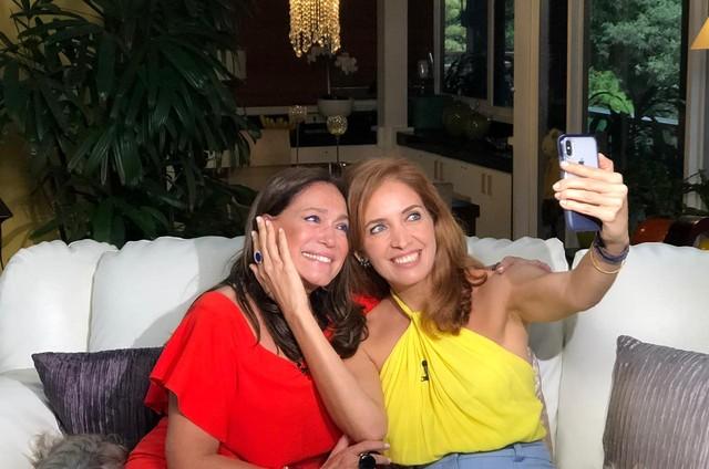 Susana Vieira e Poliana Abritta (Foto: Divulgação)