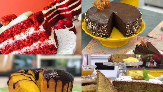 Confira receitas de bolos do 'Mais Você' e se inspire para a temporada do 'Fecha a Conta'