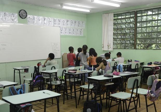 educação básica, escola, sala de aula (Foto: agência brasil)