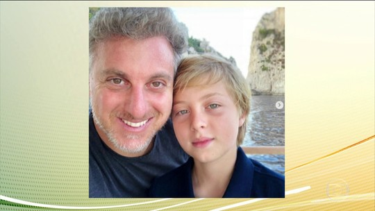 Filho do apresentador Luciano Huck se recupera após passar por cirurgia