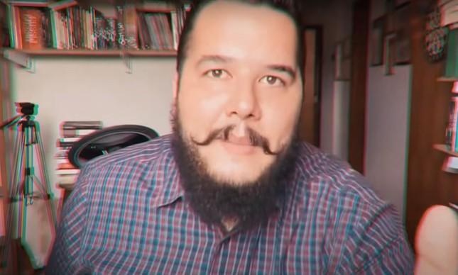 O youtuber Bernardo Küster