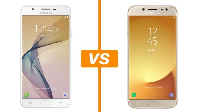 c245a6005a Galaxy J7 Prime vs Galaxy J7 Pro  saiba detalhes da ficha técnica ...