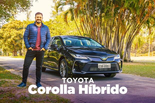 Novo Toyota Corolla - vídeo (Foto: Autoesporte)