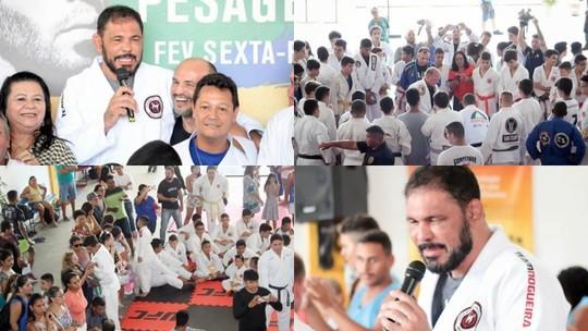 Exclusivo na web: Minotauro participa de aulão de artes marciais em projeto para crianças e jovens cearenses