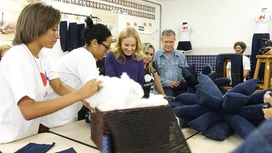 Angélica recebe ajuda de amigos famosos para projeto de ONG no 'Estrelas Solidárias'