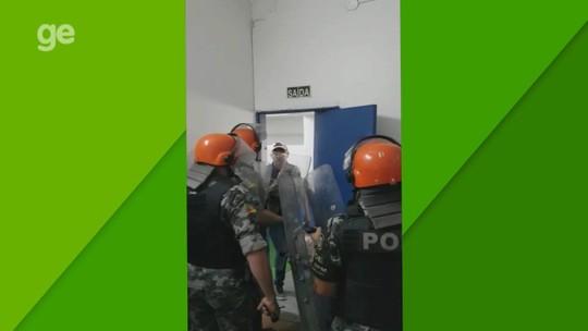 Arbitragem de Aimoré x Caxias relata tentativa de agressão no vestiário do Cristo Rei