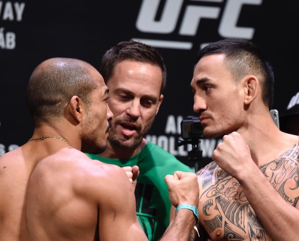 Brasileiro tentará dar o troco no adversário para reconquistar o cinturão do UFC (Foto: André Durão)