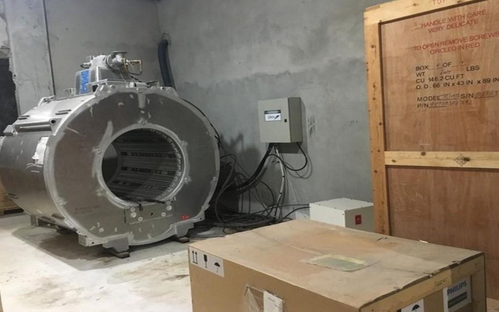 Direção pede ajuda da sociedade e empresários para colocar os equipamentos em funcionamento — Foto: Hospital de Cirurgia