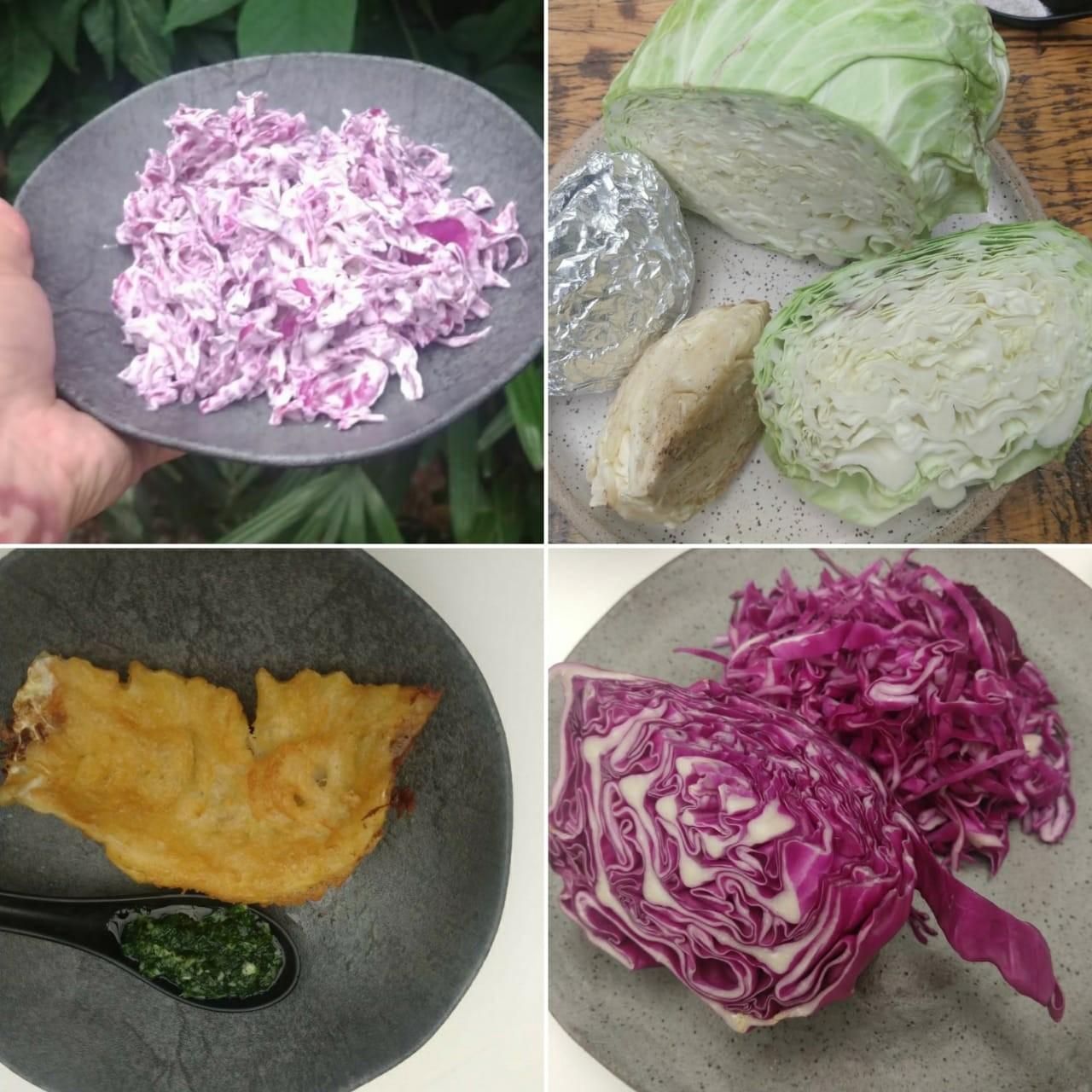 Repolho na salada, assado e empanado para o happy hour; aprenda