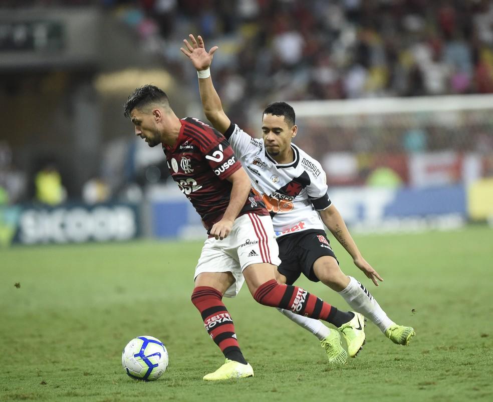 Arrascaeta jogou 45 minutos e foi bem — Foto: André Durão / GloboEsporte.com