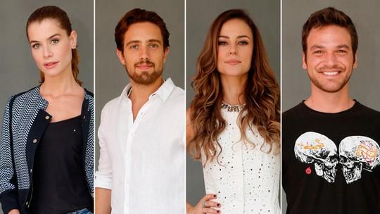 Paolla Oliveira, Alinne Moraes e elenco mudam visual para segunda fase de 'Além do Tempo'