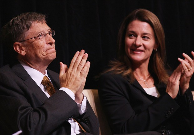 Bill e Melinda Gates (Foto: Getty Images)