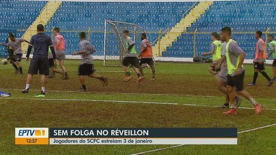 Longe de família e festas de fim de ano, atletas do São Carlos concentram para Copa SP