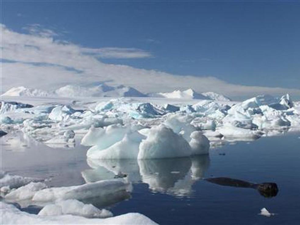 Antártida: ainda mais fria (Foto: Alister Doyle / Reuters)