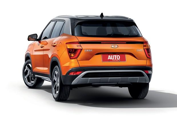 Modelo nacional do Hyundai Creta será lançado em 2021 - Lanternas Polêmicas: A traseira terá luzes mais  integradas  (Foto: Bobaedream)