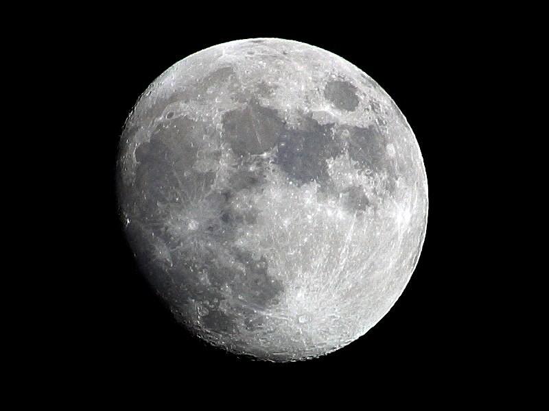 Superfície da Lua (Foto: OldakQuill/ Wikimedia Commons)