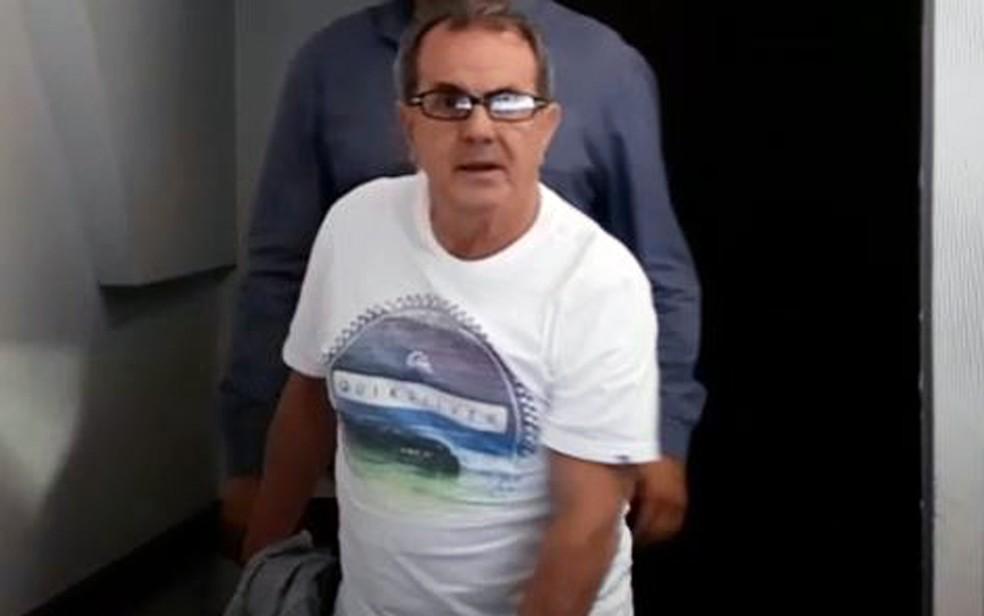 Médico ginecologista Edilei Rosa Novaes foi preso em Belo Horizonte, em 2019, após denúncias de importunação sexual — Foto: Elton Lopes/TV Globo