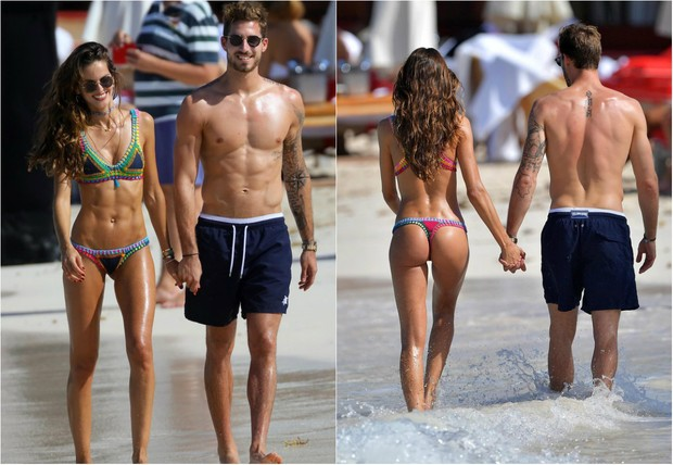 Izabel Goulart) and Kevin Trapp (picture: Getty Images)