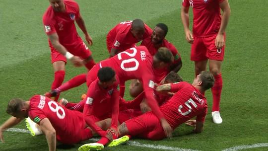 Kane faz dois e garante a vitória da Inglaterra sobre Tunísia; veja gols