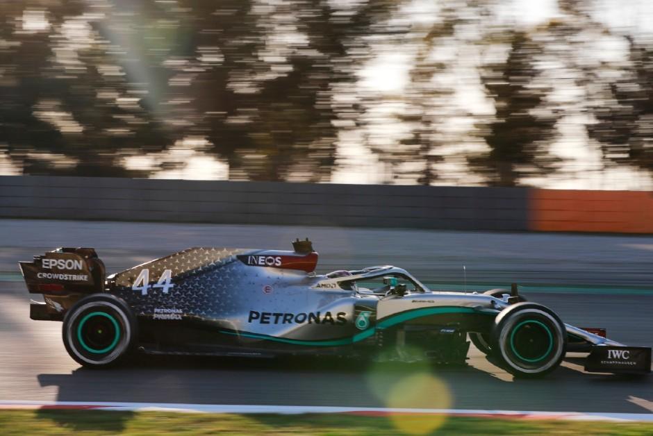 Mercedes 2020 - Fórmula 1  (Foto: Divulgação/ Mercedes)