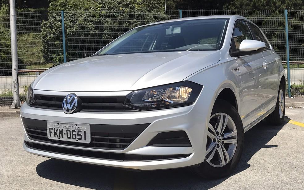 Volkswagen Polo se tornou o carro mais vendido da marca (Foto: André Paixão/G1)