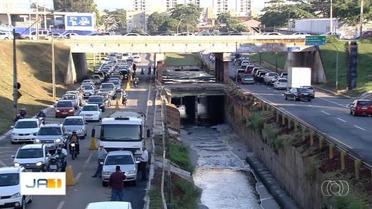 Após 5 meses de obras, tráfego é totalmente liberado na Marginal Botafogo, em Goiânia