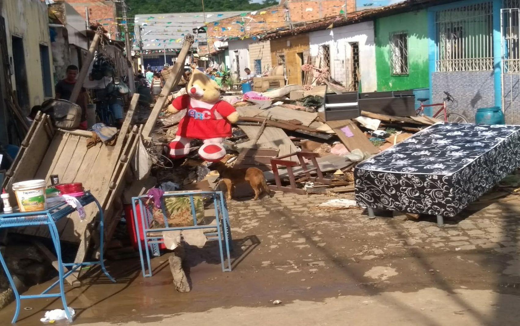 Situação de emergência em Riachuelo é reconhecida pelo Governo Federal - Notícias - Plantão Diário