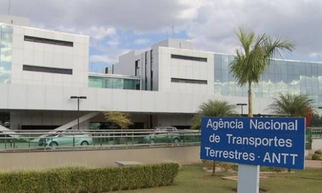 Fachada da ANTT, em Brasília
