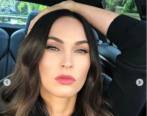 A atriz Megan Fox (Foto: Instagram)