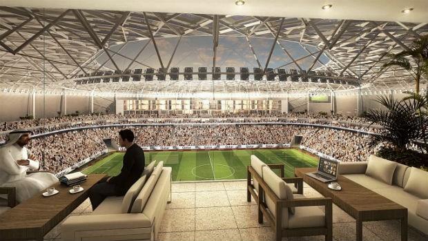 Al Rayyan Stadium (Foto: Divulgação)